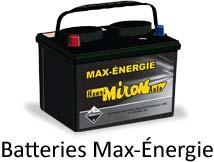 Batterie Max Energie